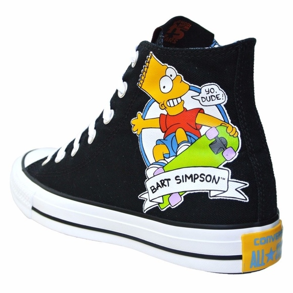 56df4a1f7719 Converse Other - CONVERSE ALL STAR X BART SIMPSON HI TOP SNEAKERS